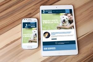 Présentation de la nouvelle plateforme mobile du nouveau site Web de la Clinique vétérinaire des petits animaux de l'Estrie