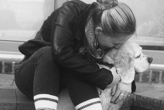 Sandrine Lapierre-Poirier est TSA et fait partie de l'équipe à la Clinique vétérinaire des petits animaux de l'Estrie
